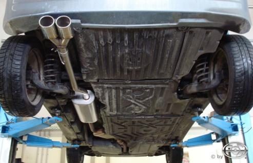 Fox Auspuff Sportauspuff Endschalldämpfer Mercedes A-Klasse 168 1, 7l CDI 44/66kW