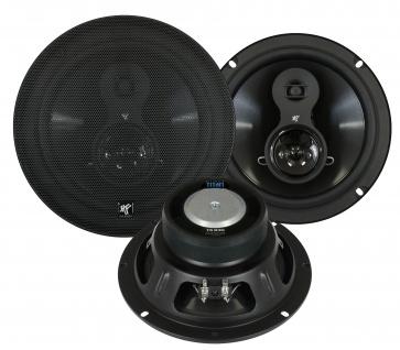 HIFONICS TITAN TS830 Lautsprecher Set 20cm 250 Watt 3-Wege Triax Heckablage