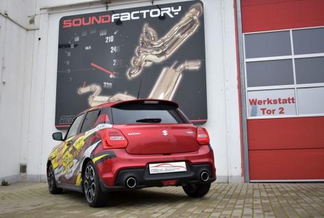 Friedrich Motorsport Duplex Sportauspuff Auspuff Suzuki Swift Sport AZ/RZ