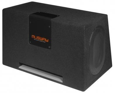 MUSWAY Dual Bassreflex-Gehäusesub MT-269Q Subwoofer Bassbox 800W