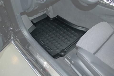 Carbox FLOOR Fußraumschale Gummimatte Mercedes C-Klasse W205 & S205 vorne links