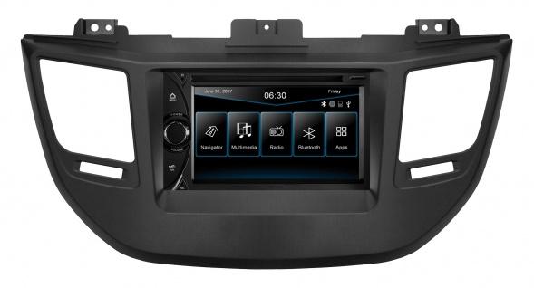 """ESX Naviceiver VN6313D Hyundai Tucson TL, seit 2015 6, 2"""" Touchscreen Multimedia"""