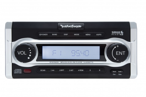 ROCKFORD FOSGATE Marine RFX9700CD Digital Media CD Receiver Radio Multimedia