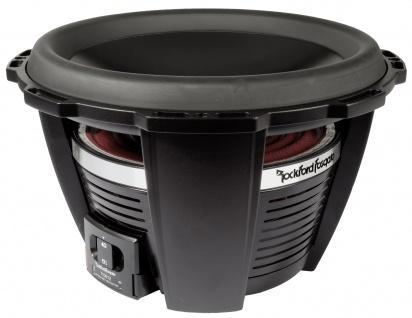 ROCKFORD FOSGATE POWER Subwoofer T1D412 30 cm Subwoofer Bassbox 1600 Watt