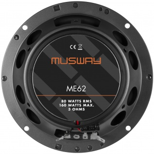 MUSWAY KOAX 16, 5 cm ME-62 System Auto Car PKW Hifi Boxen Lautsprecher Paar - Vorschau 3