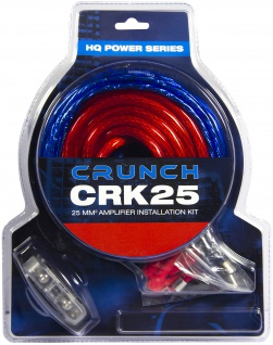 CRUNCH Kabelkit 25 mm² CRK25 Kabelkit 25 mm²