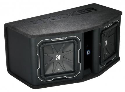 KICKER Q-Class L7 Dual-Bassreflexbox DL7122 2x30 cm Subwoofer 3.600 Watt MAX