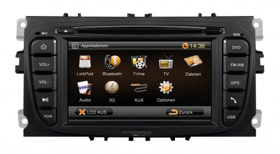 ESX Naviceiver VN609-FO-U1 Ford Mondeo BA7 Focus DA3 Galaxy WA6 C-Max C214