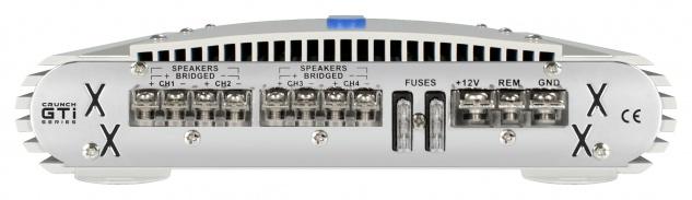 Crunch Gti4150 4-kanal Verstärker Endstufe Kfz Auto Pkw Gti 4150 - Vorschau 3