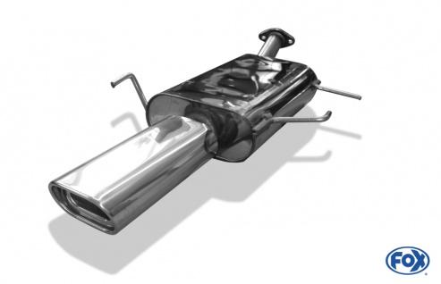Fox Auspuff Sportauspuff Endschalldämpfer Nissan Primera P11 - Kombi/ Traveller