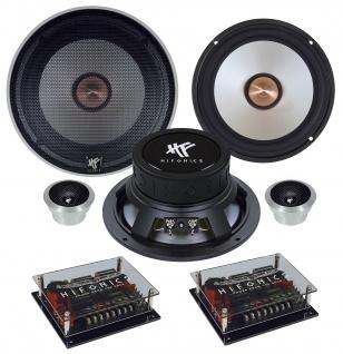 HIFONICS MAXXIMUS 2-Wege System 16, 5cm MX-6.2C Autolautsprecher Lautsprecher