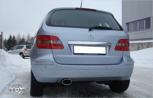 Fox Auspuff Sportauspuff Endschalldämpfer Mercedes B-Klasse 245 2, 0l D 103kW - Vorschau 1