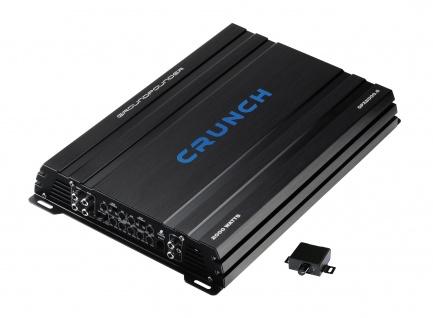 CRUNCH GROUNDPOUNDER 5CH Hybrid AMP GPX2000.5 5-Kanal Verstärker Endstufe KFZ