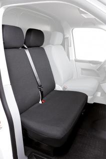 Schonbezug Sitzbezug Sitzbezüge VW T5 ab Bj. 09/09 - heute