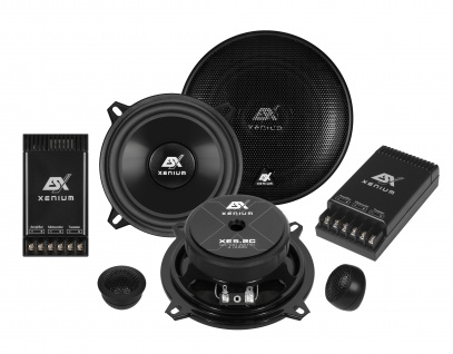 ESX XENIUM 2-Wege System XE-5.2C Lautsprecher Set Auto Boxen Paarpreis