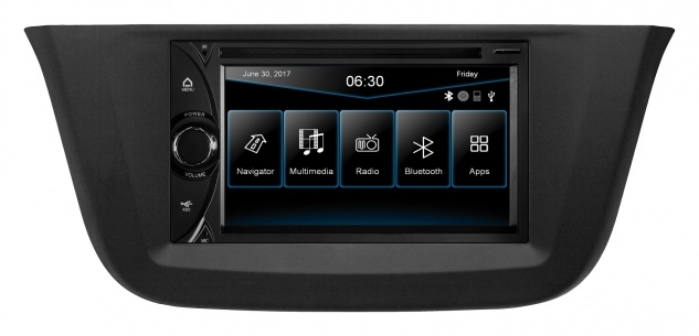 ESX Naviceiver VNC6312D Iveco Daily 2014 DVD CD Bluetooth Navi Multimedia