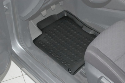Carbox FLOOR Fußraumschale Gummimatte Nissan Qashqai 04/2014 vorne links