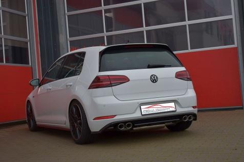 Friedrich Motorsport Gruppe A Duplex Sportauspuff Auspuff Anlage VW Golf VII