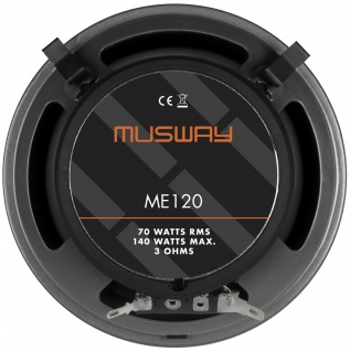 MUSWAY KOAX 12 cm ME-120 System Auto Car PKW Hifi Boxen Lautsprecher Paar - Vorschau 5