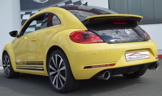Friedrich Motorsport 76mm Duplex Auspuff Sportauspuff Anlage VW Beetle 5C Cabrio