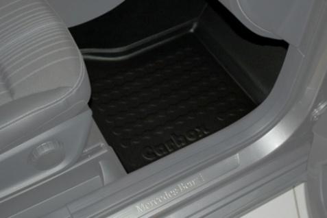 Carbox FLOOR Fußraumschale Gummimatte Fußmatte Mercedes B-Klasse vorne rechts