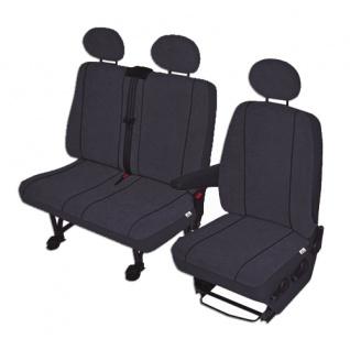 Profi VW Transporter Schonbezug Sitzbezug Sitzbezüge Art.:502262/502255-sitz148