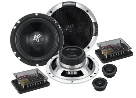 HIFONICS TRITON 2-Wege 16, 5cm System TR-6.2C Autolautsprecher Lautsprecher Auto