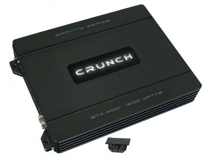 CRUNCH GRAVITY Monoblock Endstufe Verstärker 12V CarHifi Bass Amp 1200 Watt