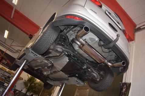 Friedrich Motorsport Duplex Sportauspuff Auspuff Ford Grand C-Max DXA 1.0l
