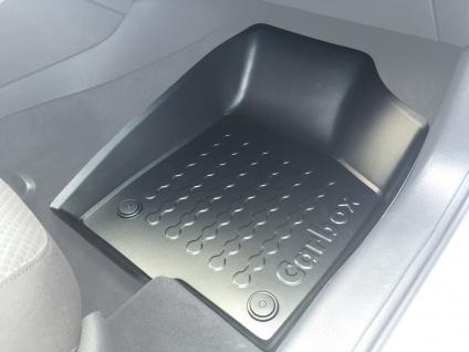 Carbox FLOOR Fußraumschale Gummimatte vorne rechts VW Jetta VI 01/11-10/16