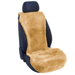 Lammfellbezug Auto Sitzbezug Sitzbezüge Lammfell beige Mini
