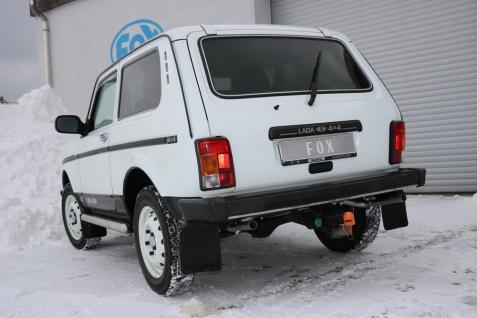 Fox Duplex Auspuff Sportauspuff Endschalldämpfer Lada Niva 4x4 1, 6l 61kW
