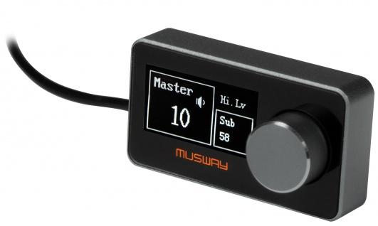 MUSWAY Compact Remote Controller DRC1 Kabelgebundene Fernbedienung