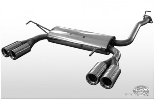 Fox Duplex Auspuff Sportauspuff Komplettanlage Honda Prelude IV BB2/3 2, 0 3, 2