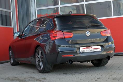 Friedrich Motorsport 70mm Duplex Sportauspuff BMW 1er F20/F21 118i 100kW