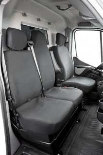 Renault Master Bj. 04/10 - heute Schonbezug Sitzbezug Sitzbezüge - Vorschau