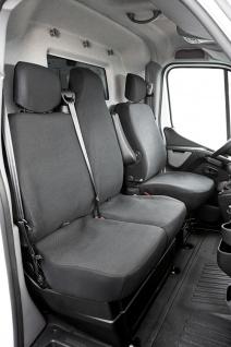 Schonbezug Sitzbezug Sitzbezüge Opel Movano Bj. 04/10 - heute