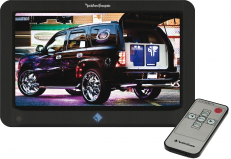 "ROCKFORF FOSGATE PRIME 7"" TFT-Monitor R70-M Kopfstützenmonitor Auto Display 12V"