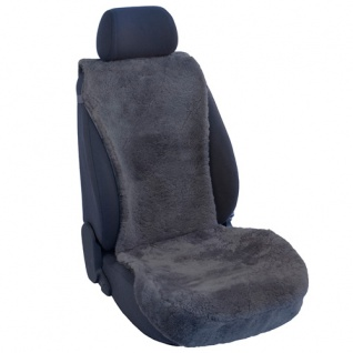 Lammfellbezug Auto Sitzbezug Sitzbezüge Lammfell anthrazit Lancia