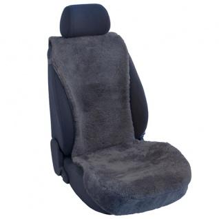 Lammfellbezug Auto Sitzbezug Sitzbezüge Lammfell anthrazit Mitsubishi