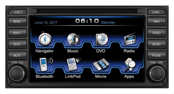 ESX Naviceiver VN610-TO-U1-DAB DVD CD Navigation Radio USB Bluetooth Multimedia
