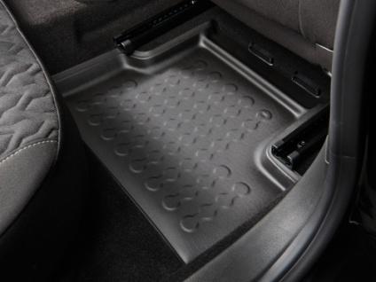 Carbox FLOOR Fußraumschale Gummimatte Fußmatte Fiat Panda hinten rechts