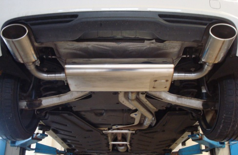 Fox Duplex Auspuff Sportauspuff Mercedes B-Klasse 246 1, 6l 90/115kW 2, 0l 155kW - Vorschau 5