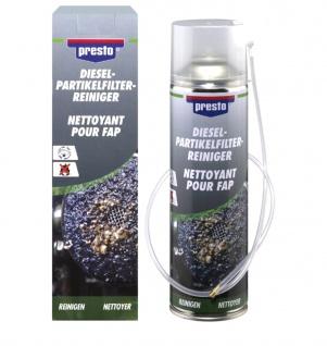 Presto Dieselpartikelfilter Reiniger DPF Reiniger mit Sonde 400 ml Rußfilter