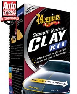 Meguiars Smooth Surface Clay Kit Lackreiniger Reinigungsknete G1016EU 473 ml