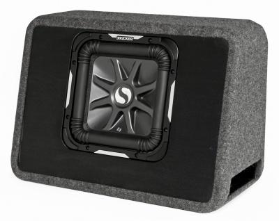 KICKER L7 Bassreflexbox TS10L72 Subwoofer Bassreflexbox 25 cm 1200 Watt