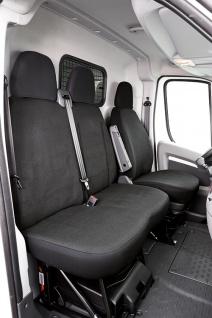 Schonbezug Sitzbezug Sitzbezüge Peugeot Boxer - Bj. 07/06 - heute