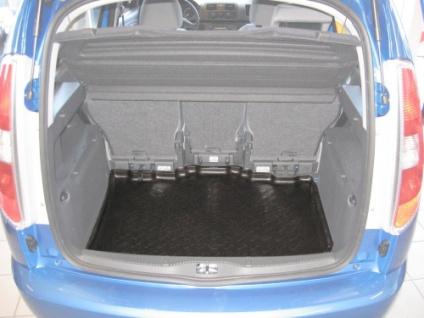 Carbox FORM Kofferraumwanne Laderaumwanne Kofferraummatte Skoda Roomster