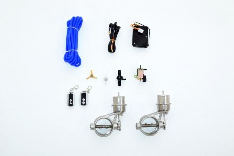 Friedrich Motorsport Klappensteuerung per Unterdruck mit Fernbedienung 2x 63, 5mm