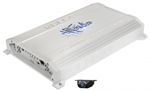 HIFONICS VULCAN Monoblock Endstufe Verstärker Digital VXi-3000D 1500 Watt RMS